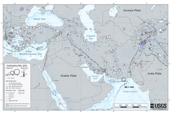 terremoto de irán e irak