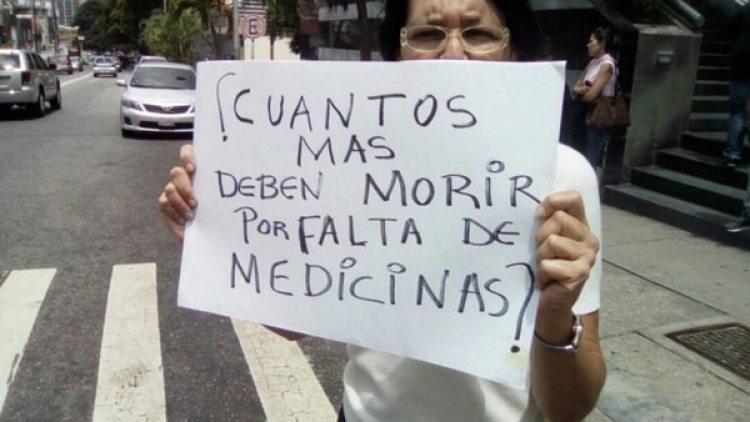 Las protestas en Venezuela reclaman al gobierno la apertura de un canal humanitario
