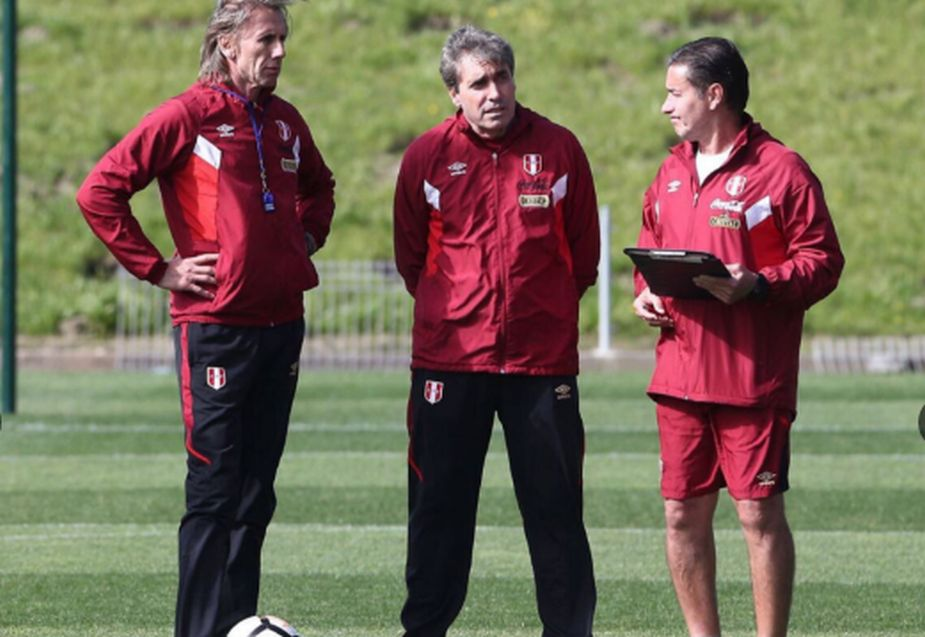 Image result for gareca entrenamiento seleccion peru