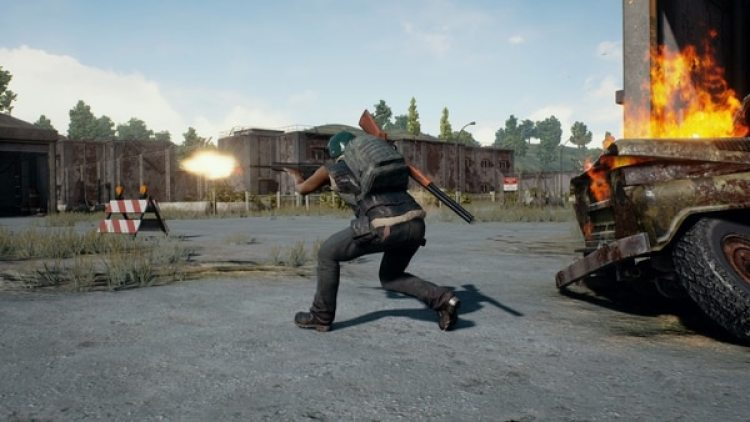 Captura del videojuego PlayerUnknown's Battlegrounds (Southhole's Bluehole Inc.)
