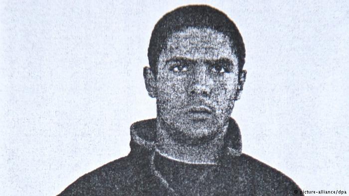 Polizeifoto - Mehdi Nemmouche (picture-alliance/dpa)