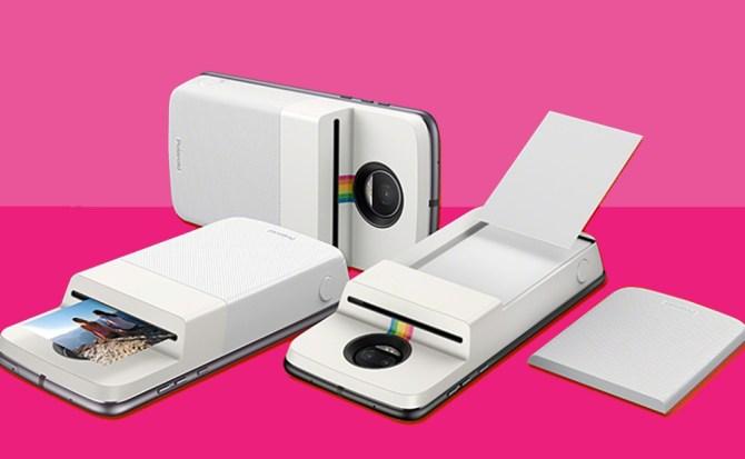 El nuevo módulo de Motorola y Polaroid imprime fotos desde el móvil