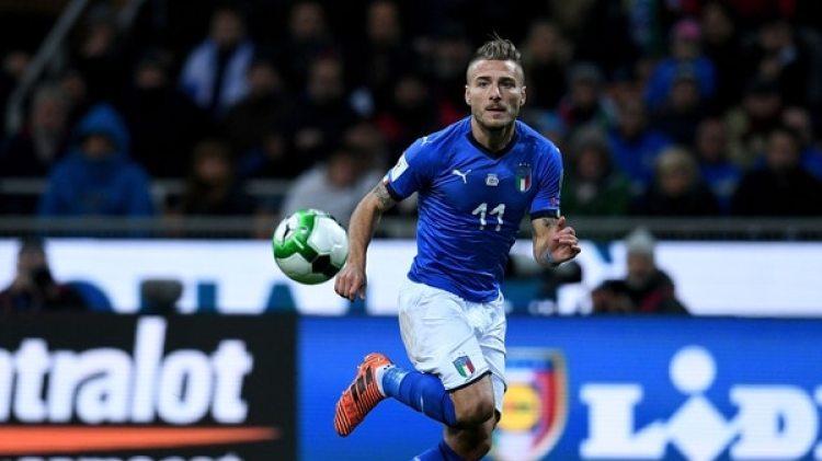 Ciro Immobile: goleador del Calcio en la actualidad, no estará en la cancha por la eliminación de Italia (Getty)