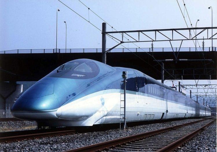 Tren bala japonés. (Photo by East Japan Railway/Getty Images)