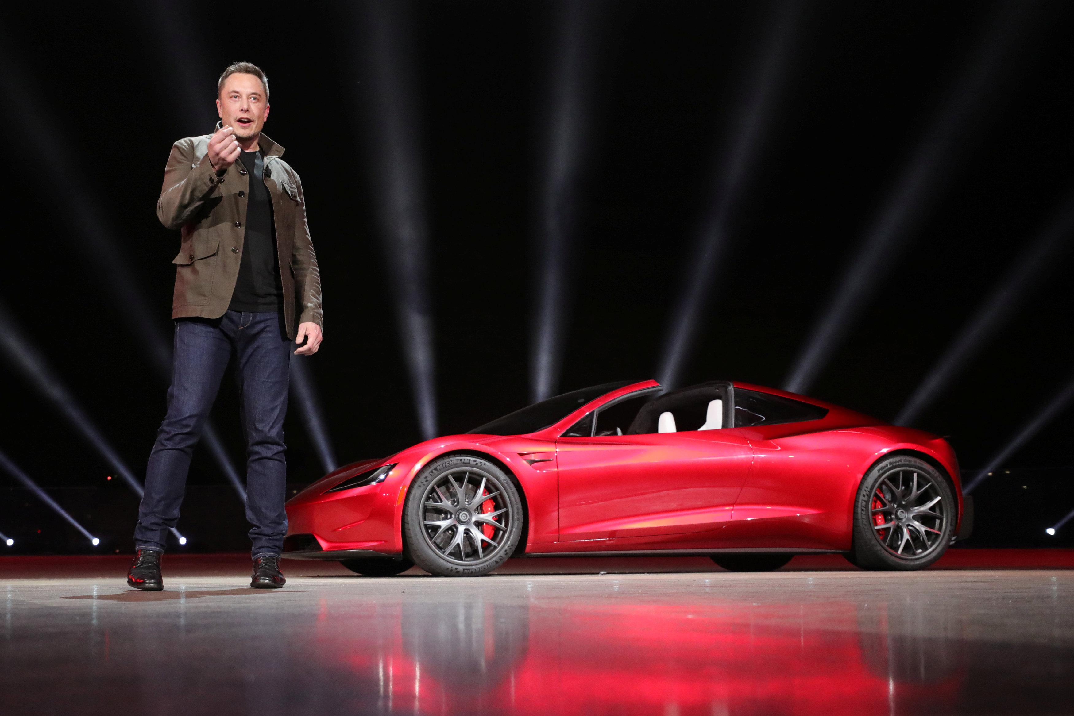 (Tesla/Handout via REUTERS)