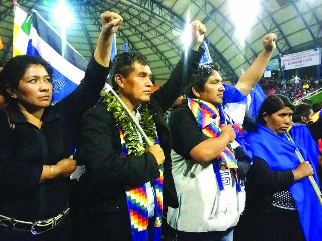 MAS Chuquisaca se renueva y prioriza reelección de Evo