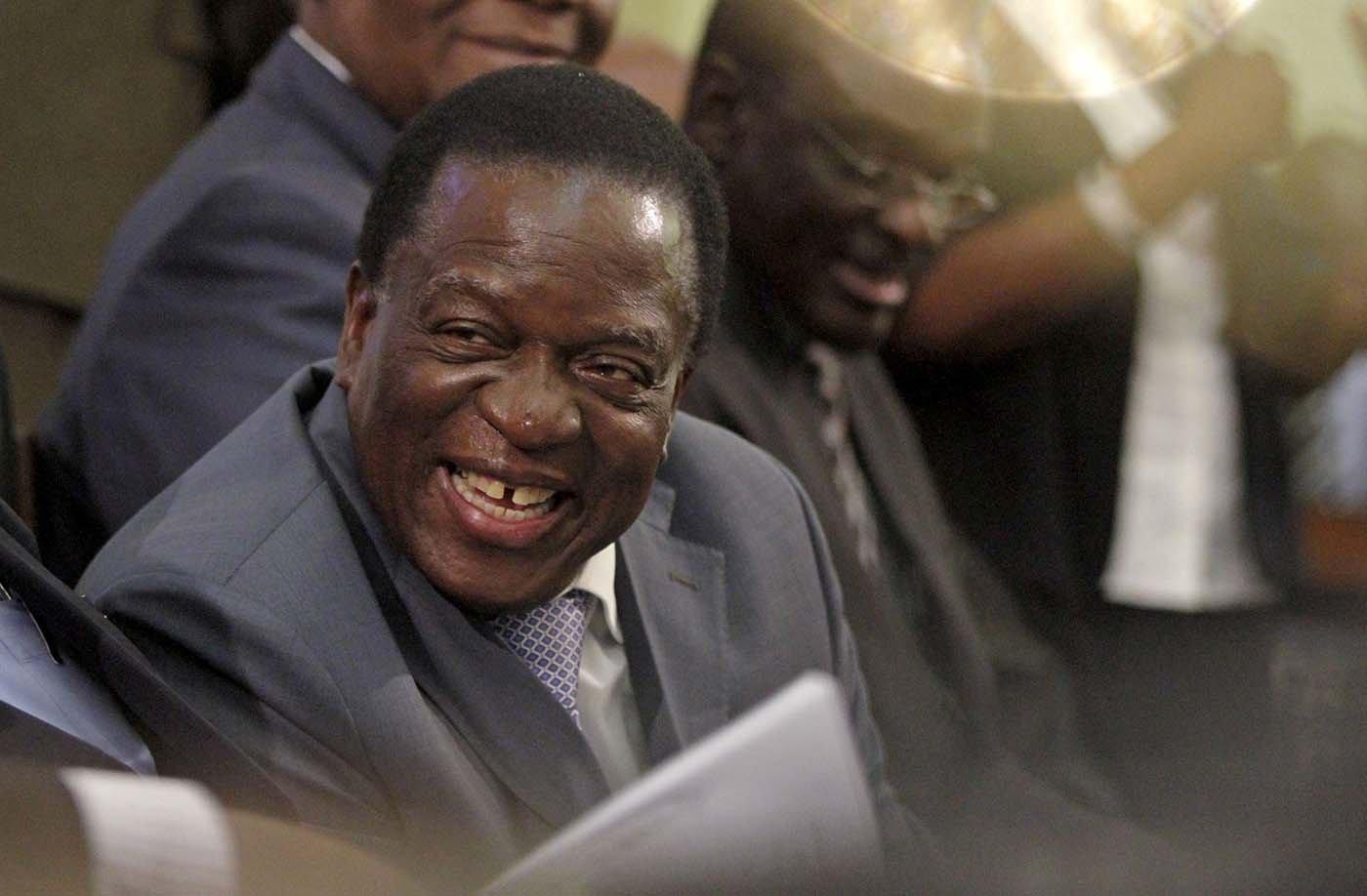 Emmerson Mnangagwa REUTERS/Philimon Bulawayo/File Photo