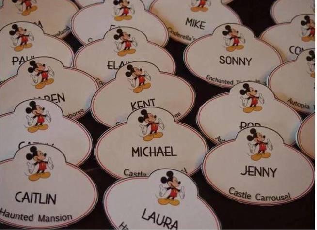 Chapas trabajadores. (Disney)