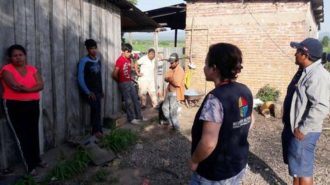 Una imagen del operativo que realizó la Defensoría del Pueblo en Bermejo. Foto: Defensoría del Pueblo