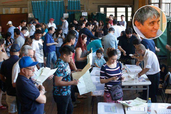 ELECCIONES PRESIDENCIALES DE CHILE REALIZADAS AYER. EN RECUADRO IVÁN ARIAS, ANALISTA POLÍTICO.