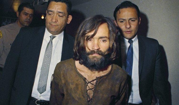 Charles Manson detenido en 1969 (AP Photo, File)