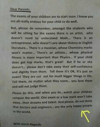 La carta del director. (Reddit)
