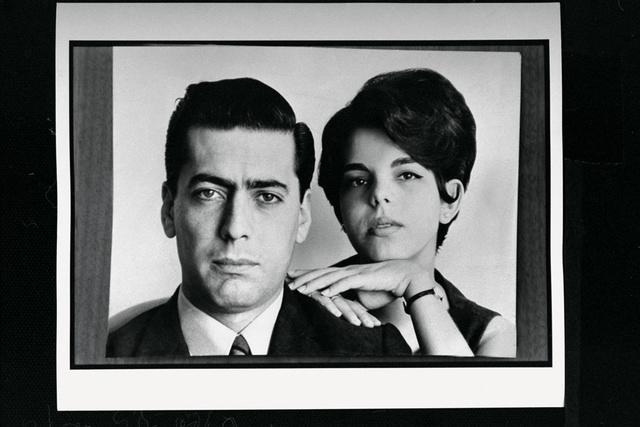 Mario Vargas Llosa y su prima Patricia en su juventud.