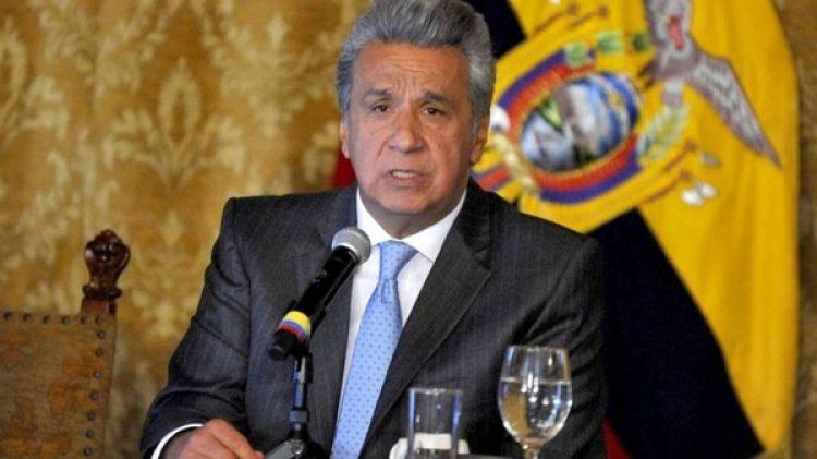 El presidente de Ecuador Lenín Moreno