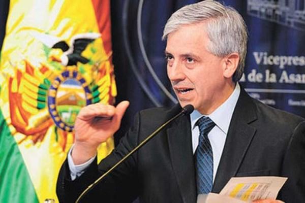 SEGUIMIENTO. El vicepresidente Álvaro García Linera cuestionó la labor de dos ONGs.
