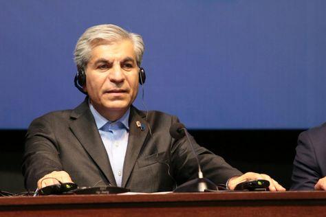 El hasta este viernes Secretario General del FPEG, el iraní Seyed Mohammad Hossein Adeli.