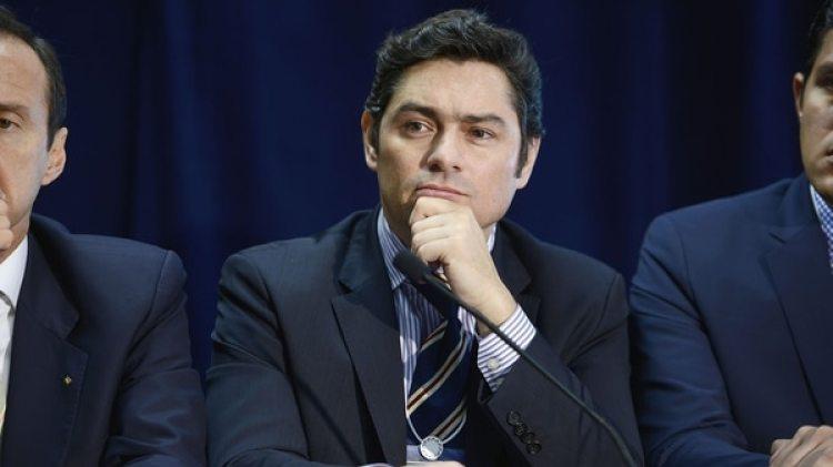 Carlos Vecchio, dirigente político de Voluntad Popular exiliado (Getty)