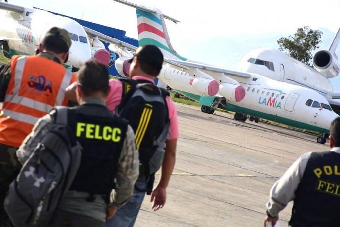 Las investigaciones en Bolivia avanzaron muy poco tras el accidente de LaMia. Foto: Archivo