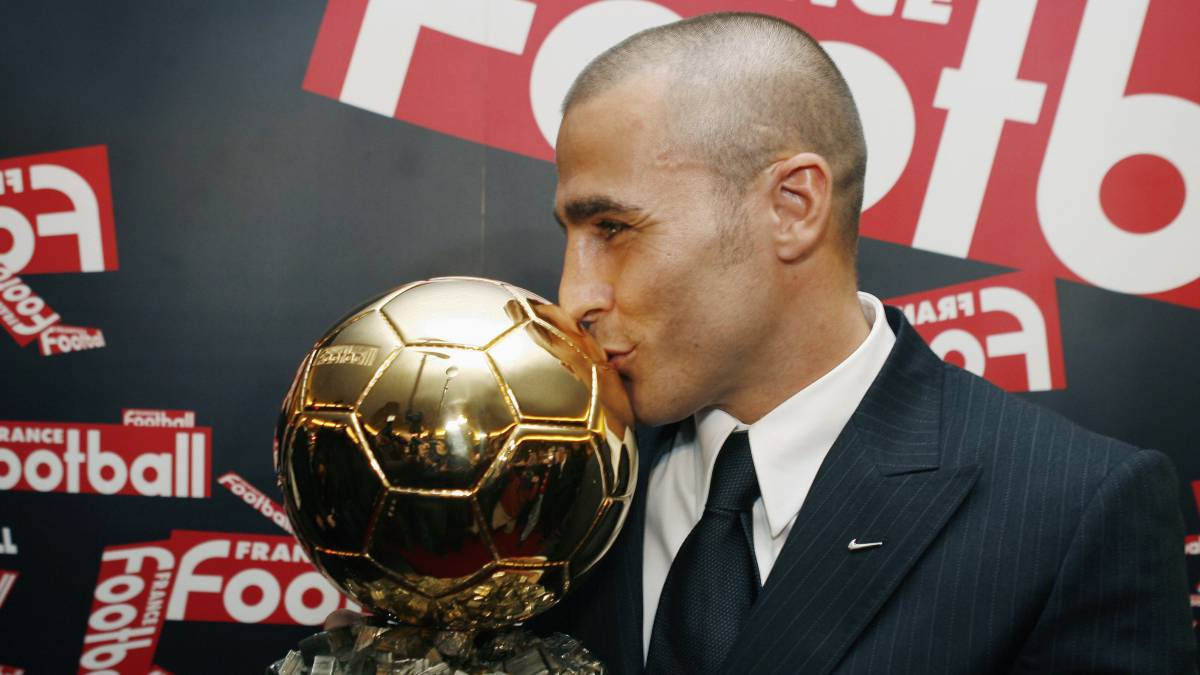 Image result for cannavaro balon de oror