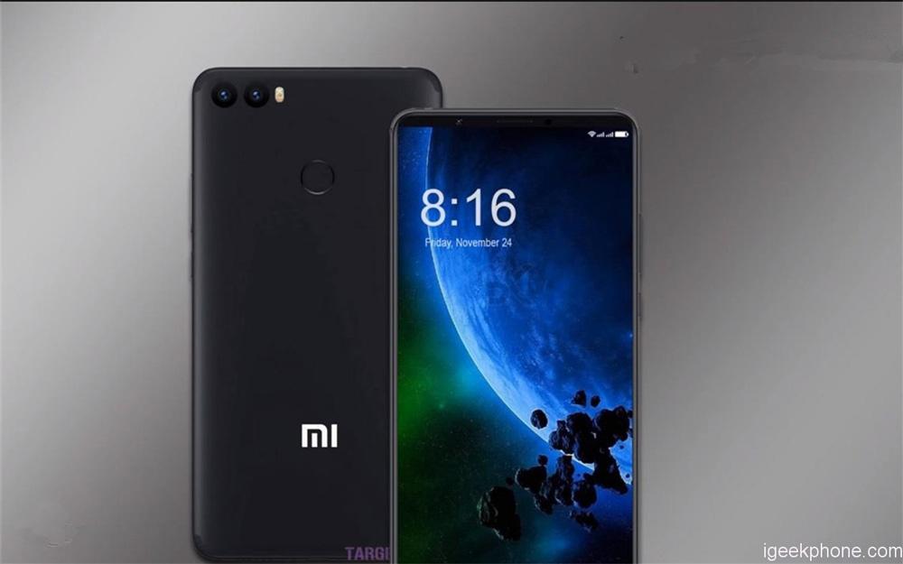 Diseño de un Xiaomi Mi Max 3 con pantalla sin marcos