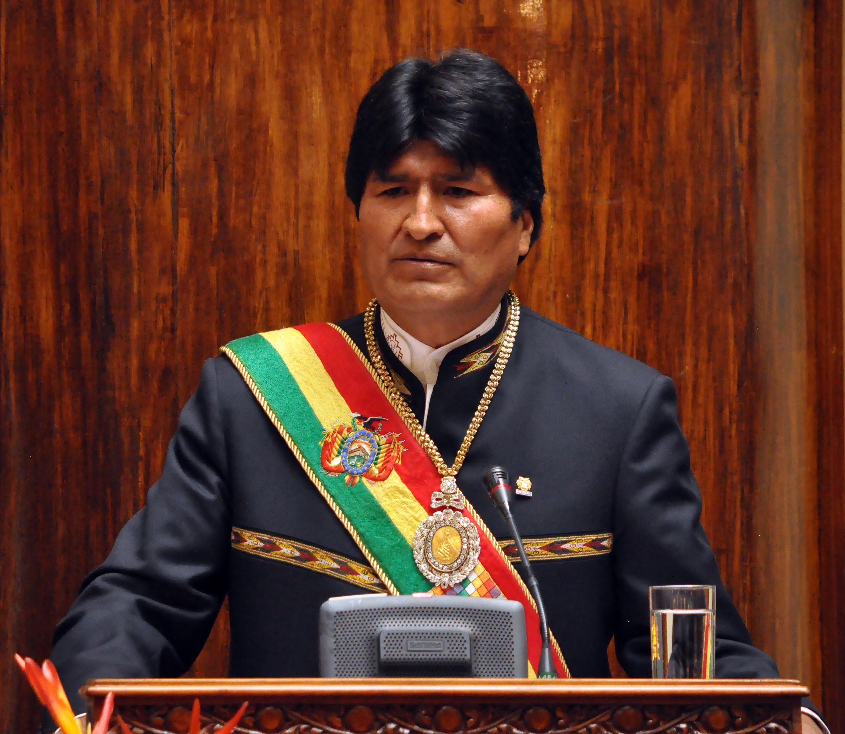 Image result for presidente evo morales