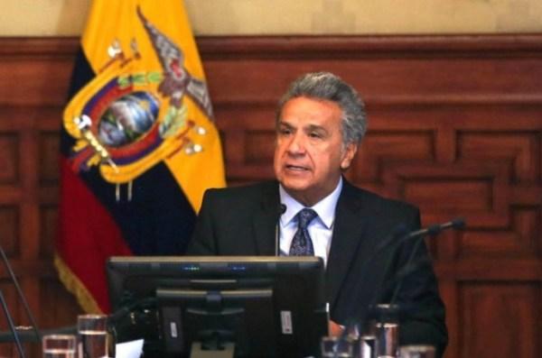 El presidente ecuatoriano Lenin Moreno. Foto: El Universo