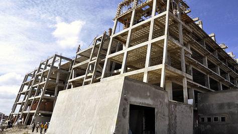 Construcción del edificio Jacha Uta