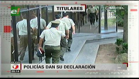 Video titulares de noticias de TV – Bolivia, noche del martes 7 de noviembre de 2017