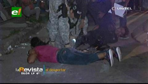 Santa Cruz: Cruce de fuego entre antisociales y efectivos de la Policía