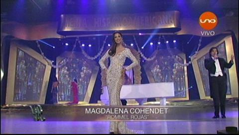 Reina Hispanoamericana 2017: Desfile en traje de gala
