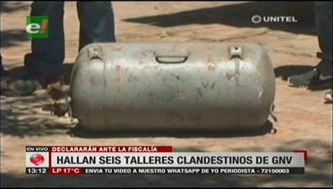 Seis aprehendidos tras clausura de talleres clandestinos de GNV