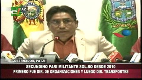 Patzi admite que papá de Juan Pari era militante de su partido