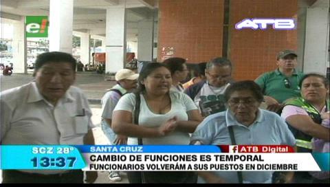 Santa Cruz: Protestas por cambio de puestos de funcionarios en la Alcaldía