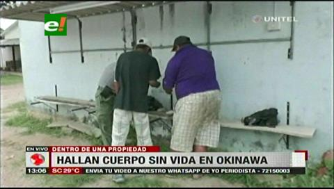 Hallan el cadáver de un hombre en descomposición en Okinawa