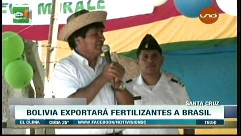 Bolivia exportará urea a Brasil desde la próxima semana