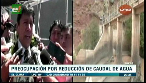"Sucre: Afinan informe para dictar ""emergencia"" por el agua"