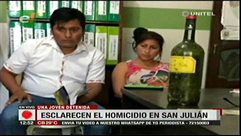 Mujer asesina a joven de un botellazo en la cabeza