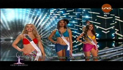 Las 10 finalistas del Miss Universo 2017