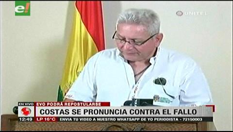 Costas: Ambición de Evo alejó a Bolivia de países democráticos y acercó a senda venezolana