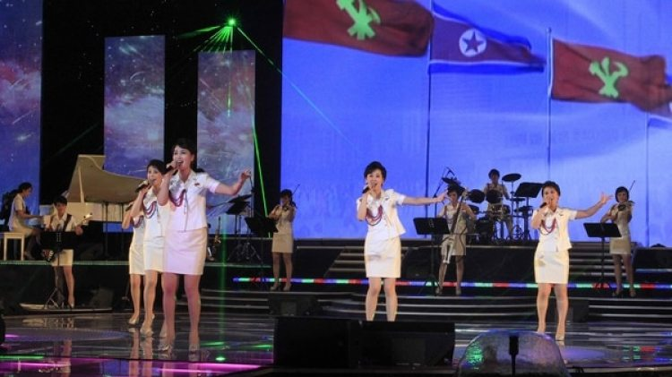 Moranbong, la banda musical tributo a Kim Jong-un