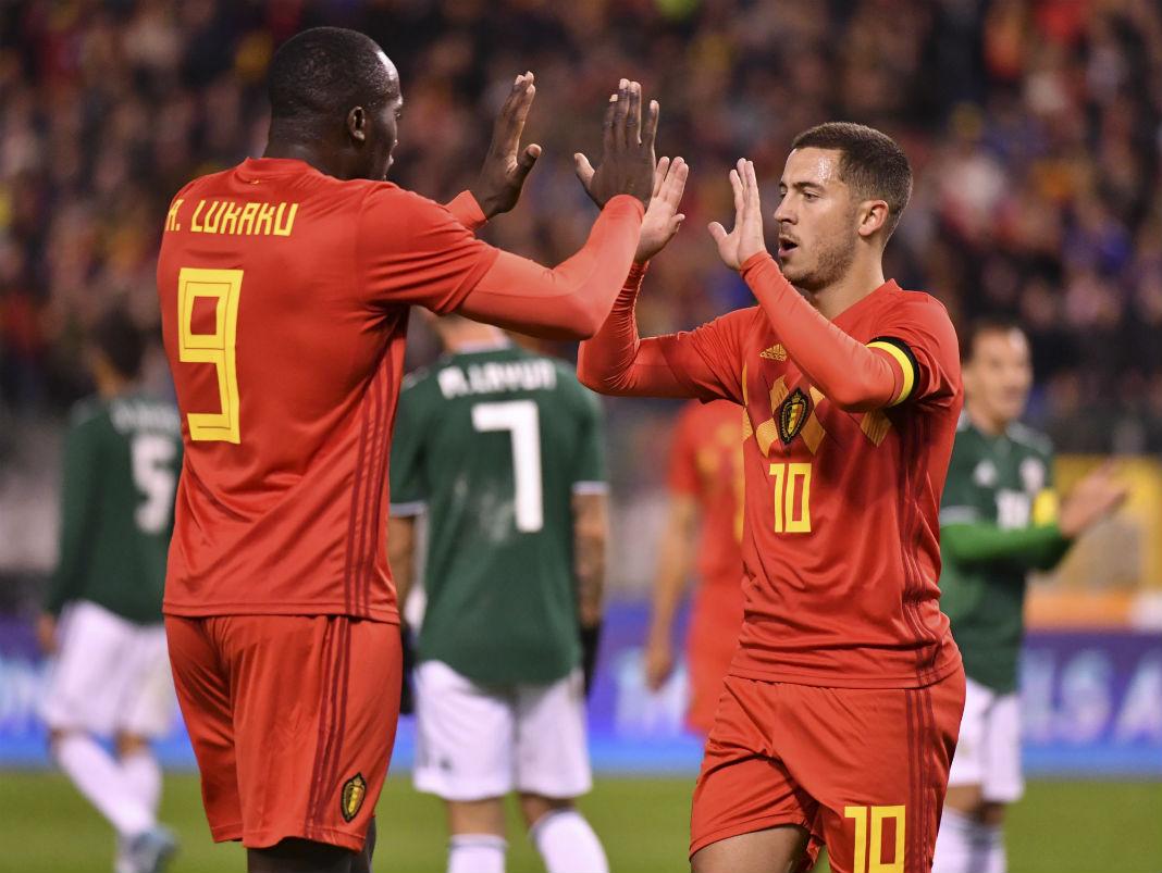 Resultado de imagen para seleccion belgica 2017 goles
