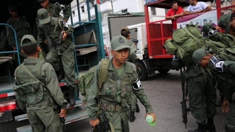 Militares venezolanos (Reuters)