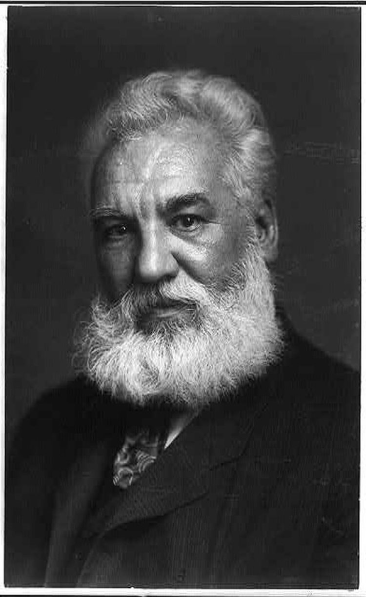 Alexander Graham Bell en 1904 (The Washington Post / Library of Congress)