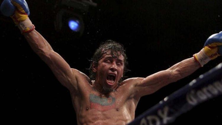 Valero ganó 27 peleas, todas por nocaut o nocaut técnico(Getty)