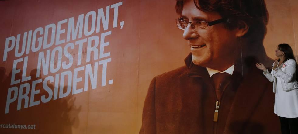 Presentación de la campaña de Junts per Catalunya.