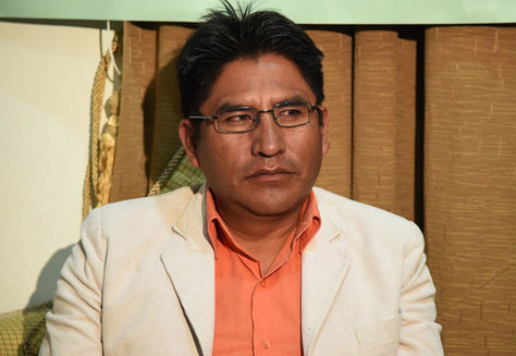 El gobernador de La Paz Félix Patzi. Foto: Archivo