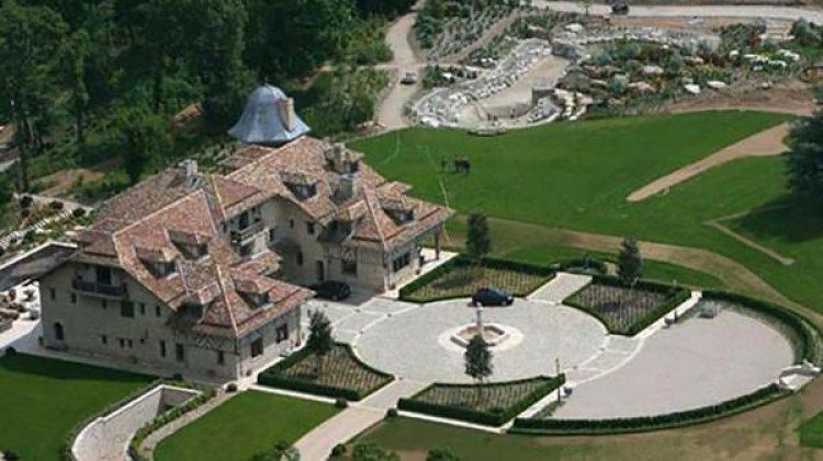 La casa de Michael Schumacher en Suiza