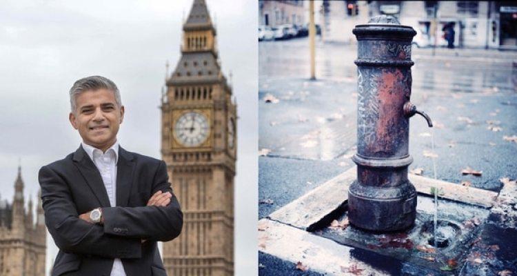 El alcalde de Londres planea poner a disposición de los ciudadanos estaciones públicas de recarga de botellas, similares a las más antiguas que existen en otras ciudades europeas