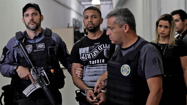 Capturaron al jefe del narcotráfico de la favela Rocinha, en Río de Janeiro