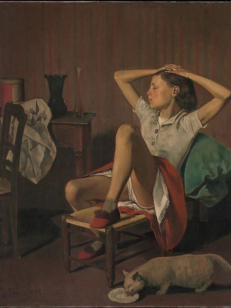 """Teresa durmiendo"" es una obra de Balthus de 1938"